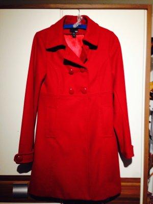Mantel rot Übergangsmantel/Wintermantel