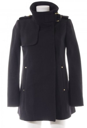 Mango collection Short Coat black-gold-colored