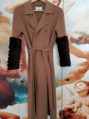 Allude Between-Seasons-Coat light brown new wool