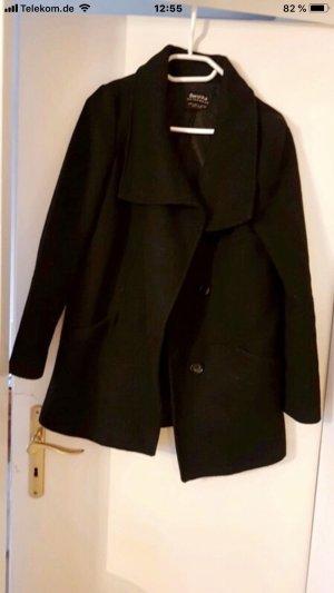 Mantel schwarz
