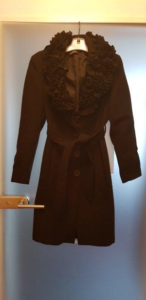 Mantel schwarz gr.S/36 ausgefallen Top