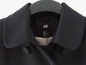 Mantel / schwarz / Größe 38 / SALE / Übergangsjacke