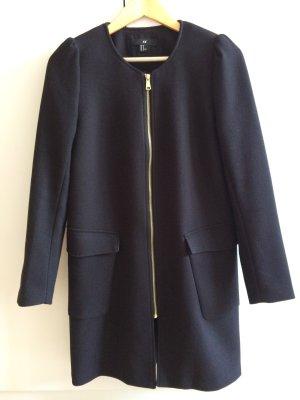 Mantel schwarz Größe 40 von H&M