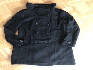 Mantel, schwarz H&M, Gr. 38