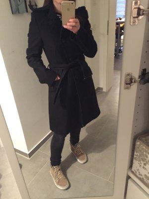 Mantel schwarz Queens von Drykorn, Größe 36