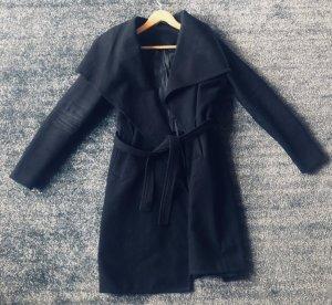 Mantel schwarz S 36 Wollmantel ASOS