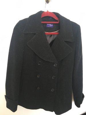 Mantel schwarz S