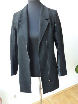 Mantel Schwarz Schick H&M Größe S