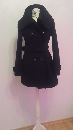Mantel schwarz Übergangsmantel