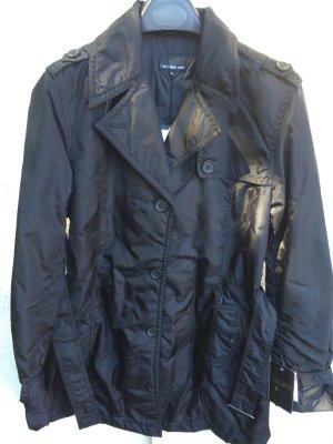 Mantel schwarz von Calvin Klein Jeans NEU Größe XL