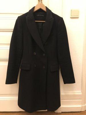 Mantel schwarz, Zara Woman, Größe S