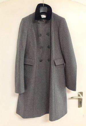 See by Chloé Abrigo de lana gris-taupe