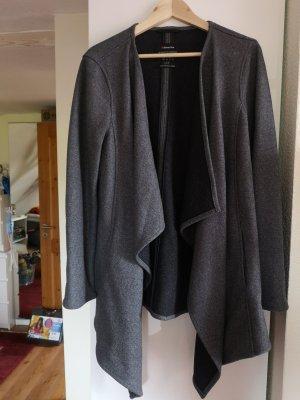 Street One Fleece Coats dark grey-anthracite