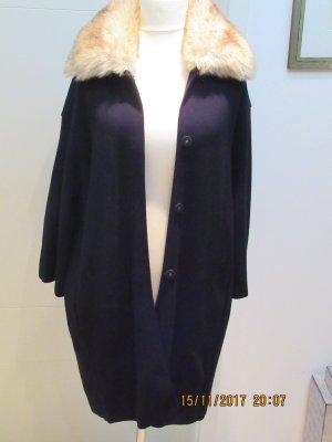 Zara Coat black-beige