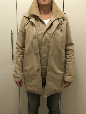 Mantel Superdry Jermyn Street Trenchcoat Farbe:Sand Unisex