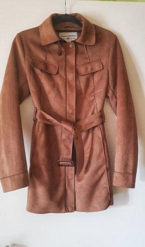 Tom Tailor Between-Seasons-Coat brown