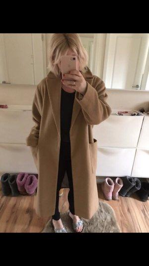 Topshop Oversized Coat camel-light pink