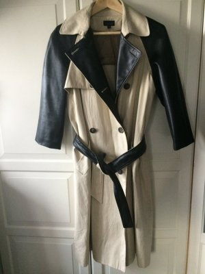 Mantel Topshop Gr. M/L 42 44 UK 14 Jacke zweireihig Trench trenchcoat Coat
