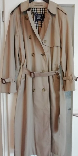 Burberry London Trench Coat grey brown mixture fibre
