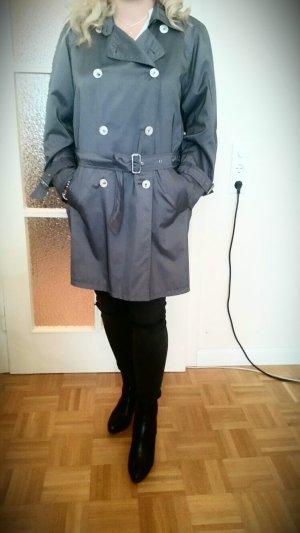 Mantel / Trenchcoat glänzend, wie neu!