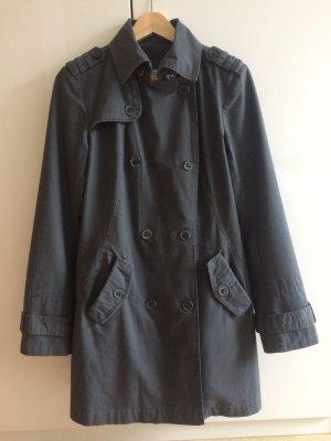 Mantel/Trenchcoat * grau * Größe M * von Tom Tailor