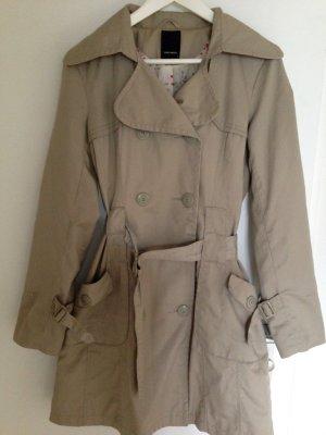 Mantel / ¾ Trenchcoat / Parker / Übergangsmantel (doppelreihig, Größe M)