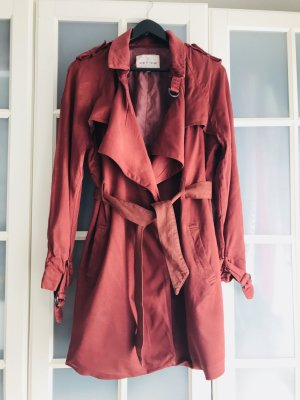 Mantel/ Trenchcoat Review Gr. S, rot, neu