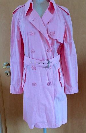 Mantel, Trenchcoat von Apanage, rosa, Größe 42,ungetragen