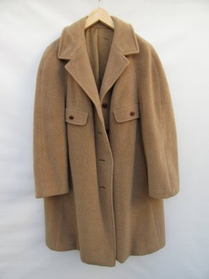 Mantel true vintage beige Retro 60er Jahre Gr. XL