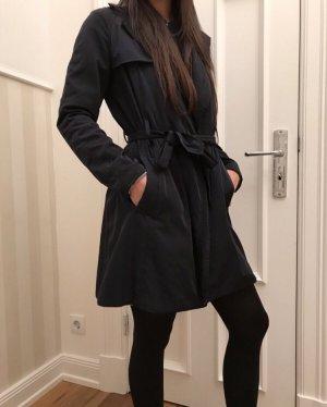 Mantel Übergangsjacke dunkelblau 36/S