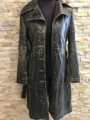 Broadway Leather Coat multicolored imitation leather
