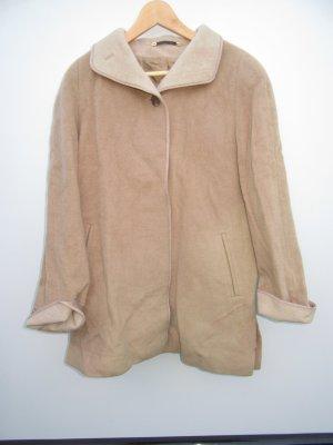 Mantel Vintage Retro beige Gr. L Wolle
