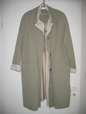 Mantel Vintage Retro Übergangsmantel Gr. 38 olivgrün CLASSIC