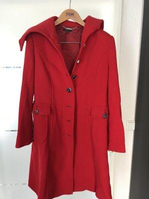Mantel von Apart Gr 42 in Trendfarbe rot