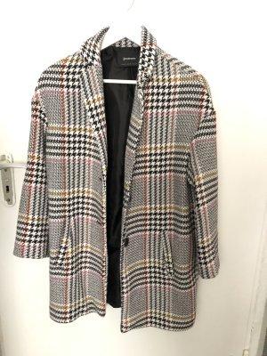 Bershka Winter Jacket black-grey