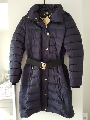 Burberry London Winter Coat gold-colored-dark blue