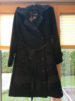 Desigual Abrigo negro