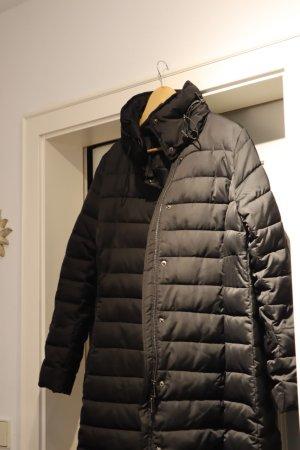 Elena Miro Down Coat black mixture fibre