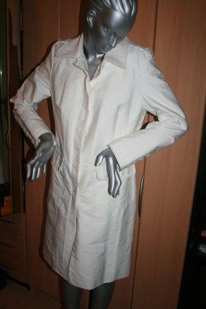 Mantel von Esprit Gr. XL in weiß/creme