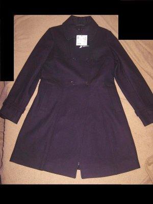 Mantel von Esprit LILA Classic Coat Woll Mantel Gr. 36