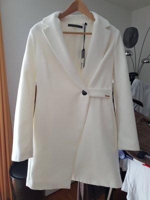 Guess Abrigo de lana blanco