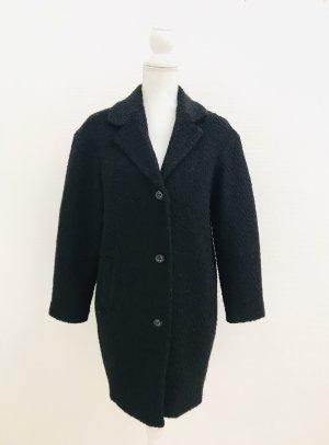 Mantel von H&M, Gr. 36, schwarz