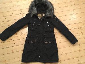 Mantel von Khujo Größe M schwarz