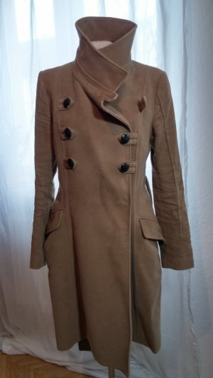 Mango Coat sand brown-gold-colored