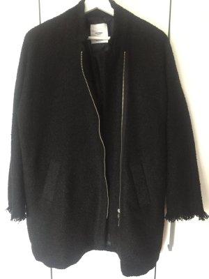 Mantel von Mango in schwarz