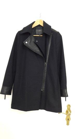 Mango Coat dark blue