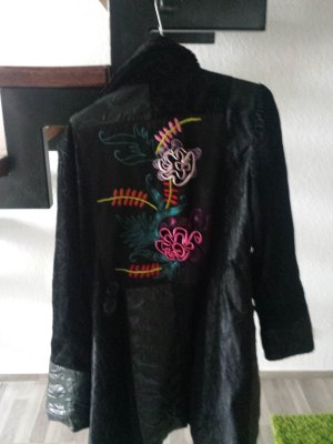 Malvin Gabardina tipo vestido negro