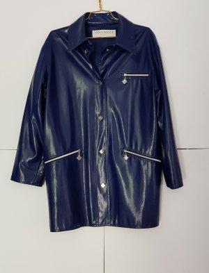 Nina ricci Oversized Coat silver-colored-dark blue