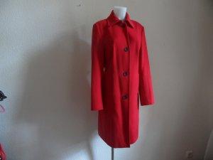 Mantel von Rene Lezard Gr. 40 Rot Luxus Pur!