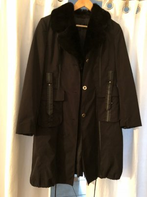 Rolf Schulte Pelt Coat black